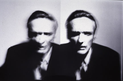 Dennis Hopper-Diptych, Actor, 03 January 1990, Chicago Studio