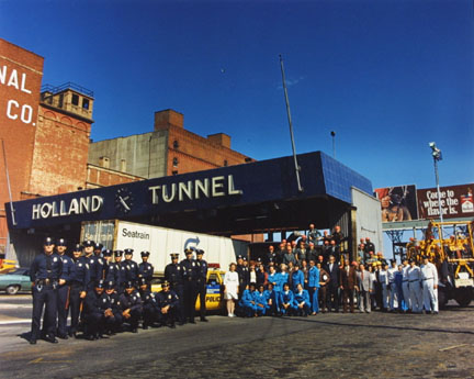 Holland Tunnel, New York, NY, from the