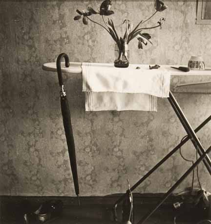 Untitled (ironing board still life)