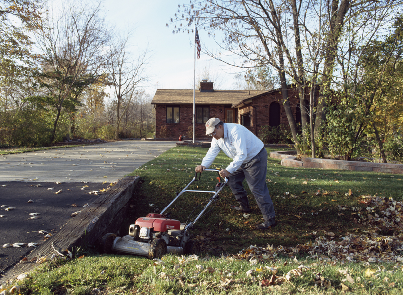 Concord Township, Ohio, from the Mowing the Lawn portfolio