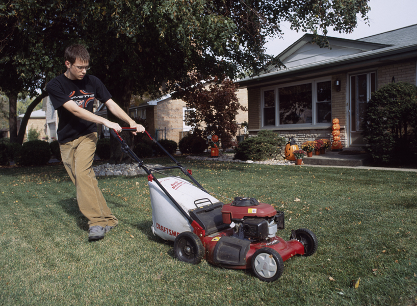 Burbank, Illinois, from the Mowing the Lawn portfolio