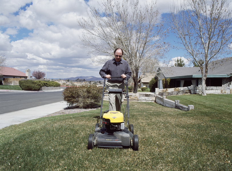 Barstow, California, from the Mowing the Lawn portfolio