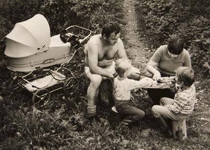 Untitled (family picnic), from the