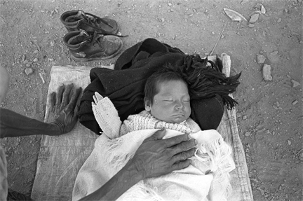 Bebe Durmiendo, Oaxaca, Mexico, from the