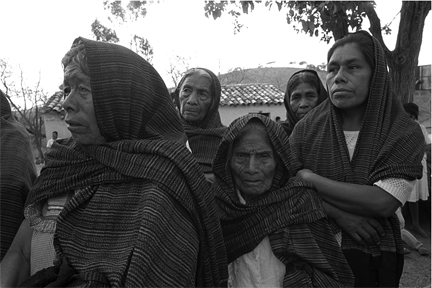 Mujeres con Rebozo, Oaxaca, Mexico, from the