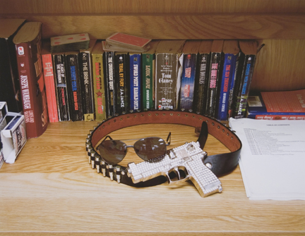 Trophy Belt and Novels, FOB Camp Desert Grip, Arizona, from the