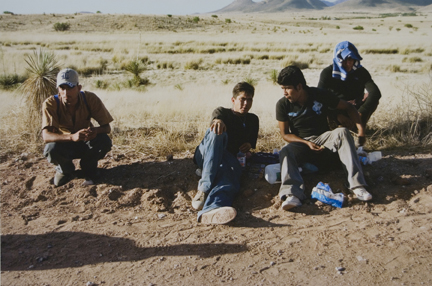 Migrants, Arizona, from the