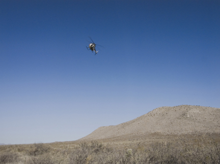 Helicopter Tracking, Arizona, from the
