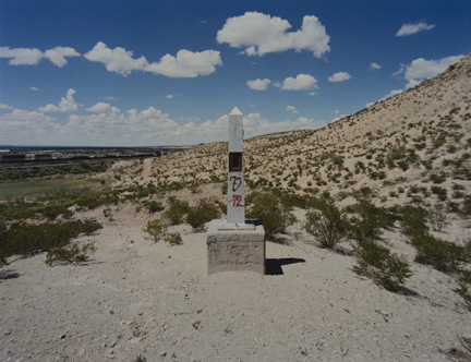 Border Monument No. 2B, from the