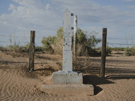 Border Monument No. 5, N1, from the