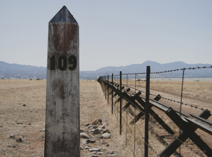 Border Monument No. 109, from the