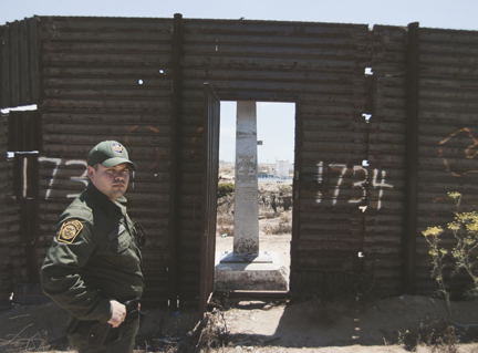Border Monument No. 257 North (Agent Morales), from the