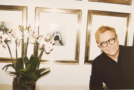 Elton John, The Boxer, London, from the Elton John AIDS Foundation Photography Portfolio I