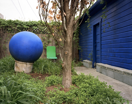 Blue Ball, Blue Wall - Chicago, Illinois, 2004