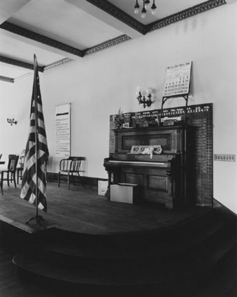 Community Room, Clay County Courthouse, Brazil, Ind., From