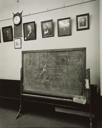 Courtroom, Clay County, Indiana, from the