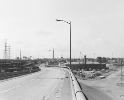 Exit Ramp From Skyway, 106th Street, Chicago, from Changing Chicago