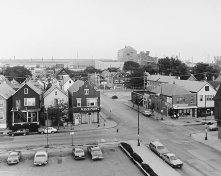 Corner of 83rd and Brandon, Chicago, from the Changing Chicago Project