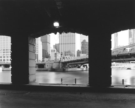 Chicago (View of River From Beneath Merchandise Mart)