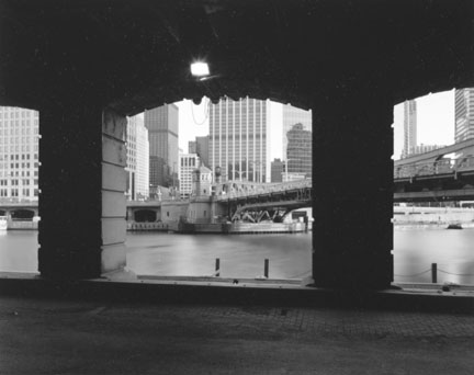 Chicago River From Beneath the Merchandise Mart