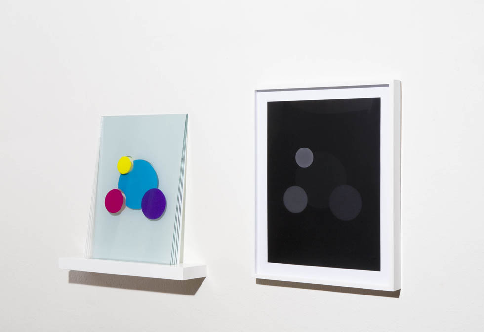Positive-Negative (diptych with 2010:25.b), from the