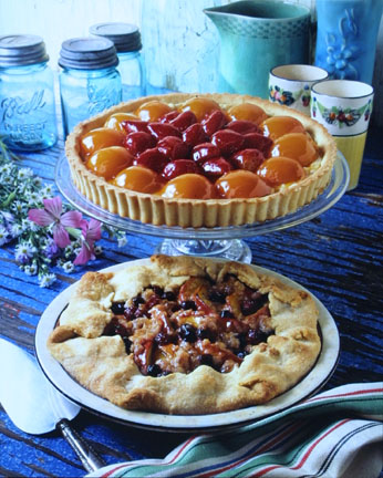 Apricot and Apricot Pie