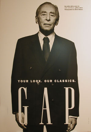 Gap White Shirt As Worn By Leo Castelli, Gallery Owner