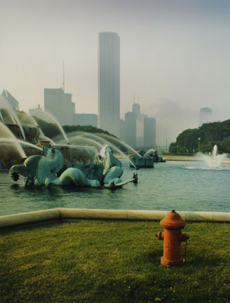 Southeast Corner of Buckingham Memorial Fountain, from