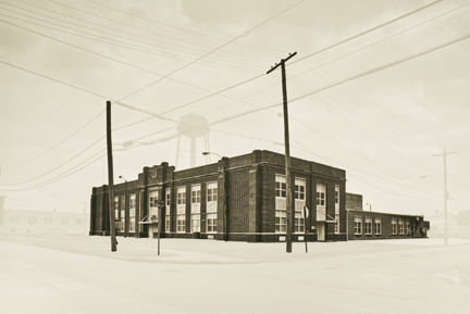 Summer High School, Cairo, IL, from the