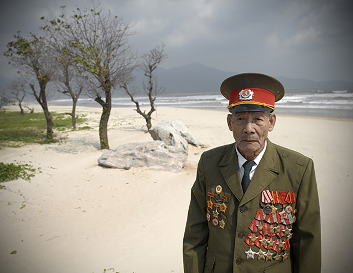 Ho Phuc Ngon, Vietnam People's Army Lieutenant Colonel, from the