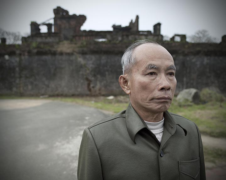 Tran Luu Chu, Vietnam People's Army Colonel, from the