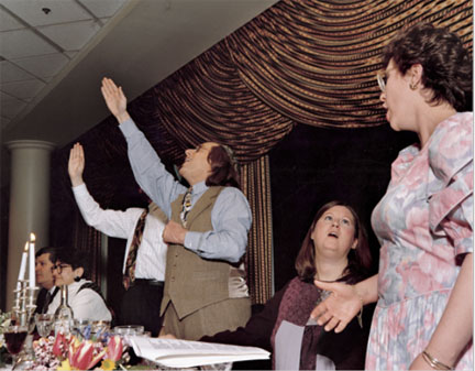 Passover Seder, Deaf Congregation