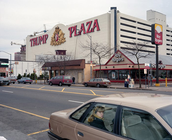 Girl in Car, Trump Plaza, Atlantic City