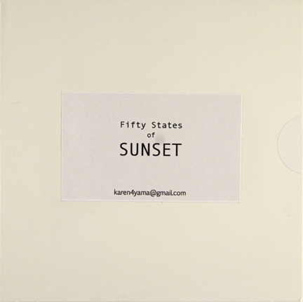 Fifty States of Sunset, , from the